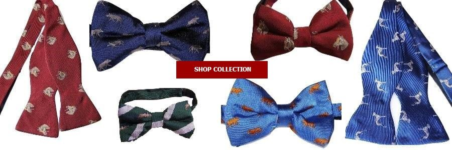 Animal Themed Bow Ties