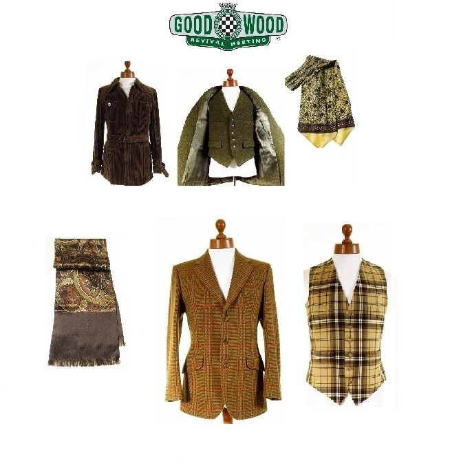 Vintage Goodwood Revival Outfits for Men