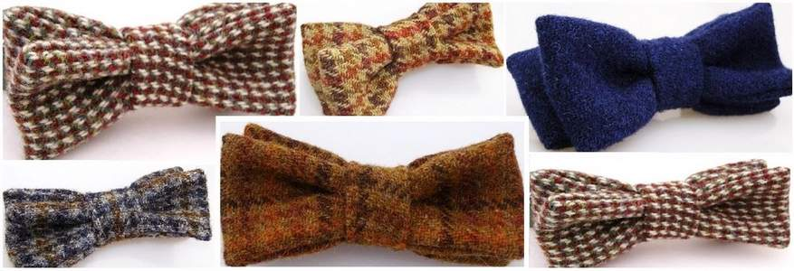 Harris Tweed Bow Ties