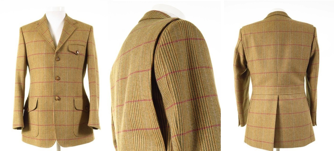 Norfolk tweed shooting jacket