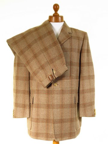 Norfolk tweed shooting suit