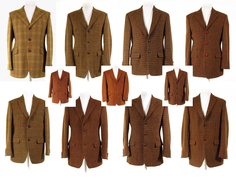 Rust Tweed Jacket